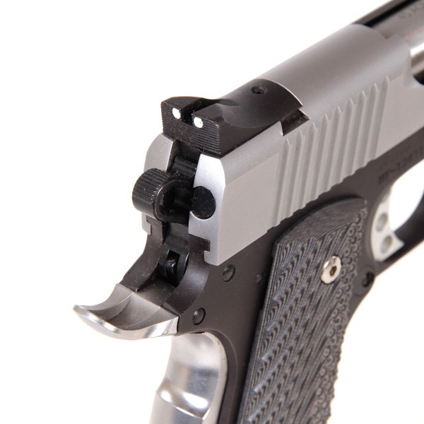 PISTOLET BUL 1911 CLASSIC GOVERNMENT TWO TONE .45