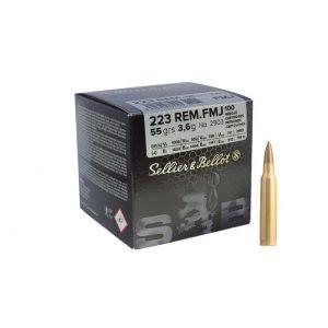 AMUNICJA S&B .223 REM FMJ 3,6g 55gr