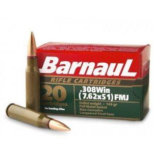 Amunicja Barnaul kal. 308WIN 9,4g FMJ