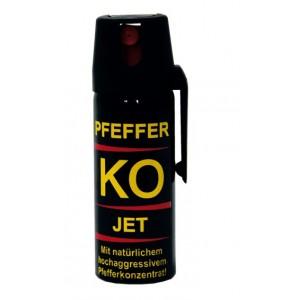 Gaz obronny pieprzowy KO PFEFFER JET -strumień-50ml