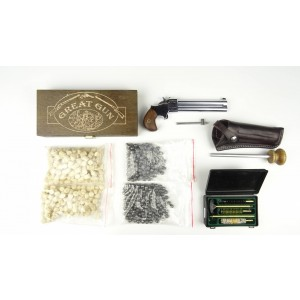 Derringer 9mm chrom 4,5 cala