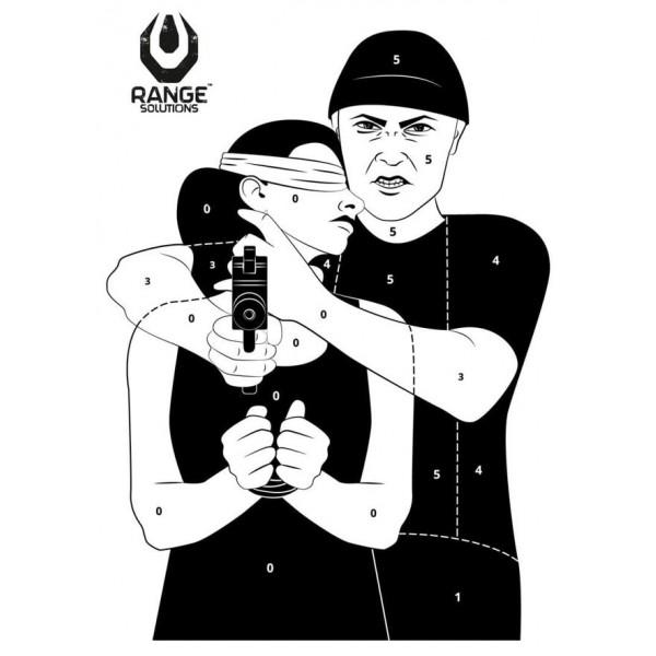 tarcza strzelecka hostage