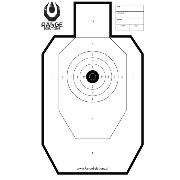 tarcza strzelecka range