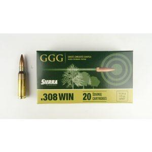Amunicja GGG .308 WIN HPBT GPX15 175gr 11,3g